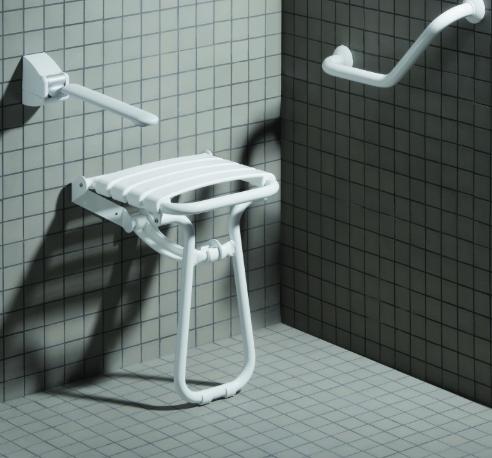 rénovation de salle de bain douche avec siège Corbeil-Essonne 91